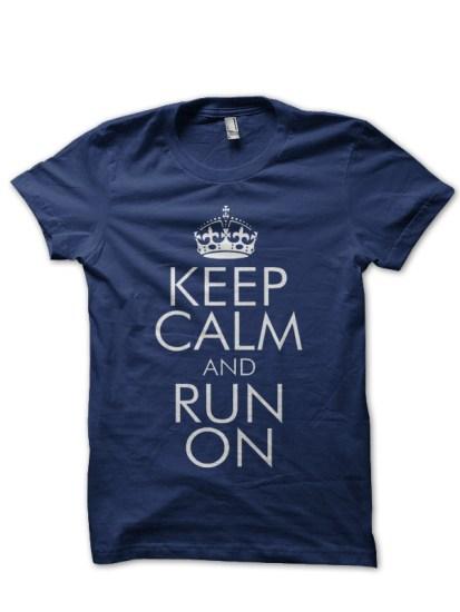 keep navy blue tee