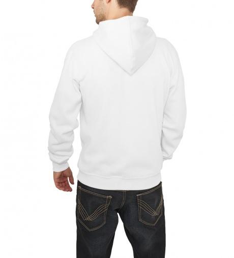 Plain white hoodies