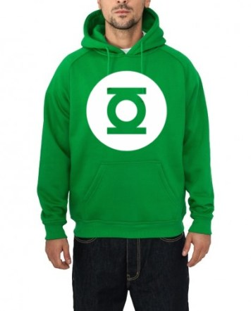 green lantern hooded sweatshirt