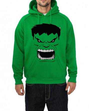 Hulk Hooded Sweatshirt in India