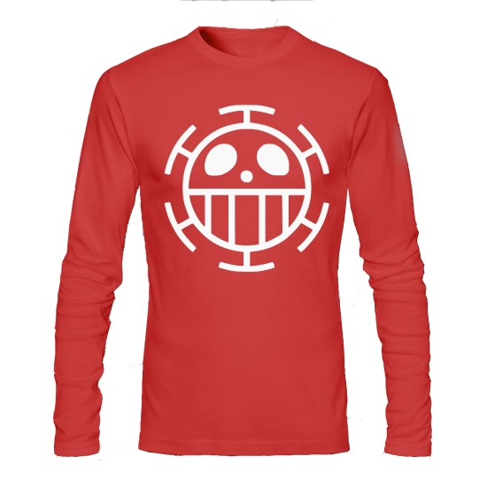 one peice red full sleeve tee