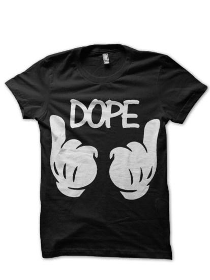 dope black tee