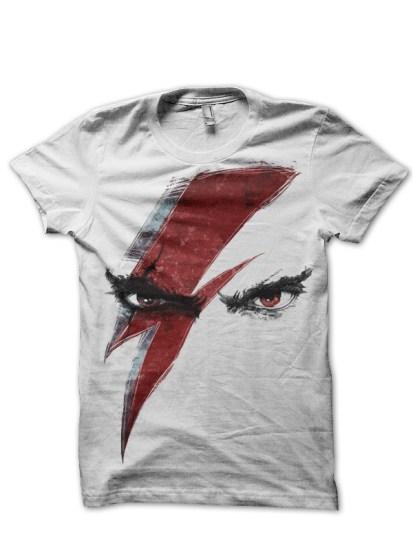 kratos god of war white tee