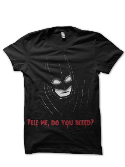 new batman black tee