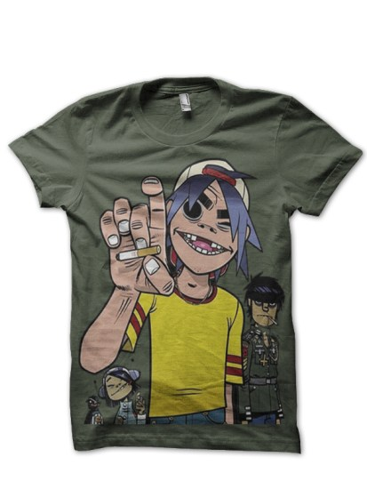 doppers olive tee