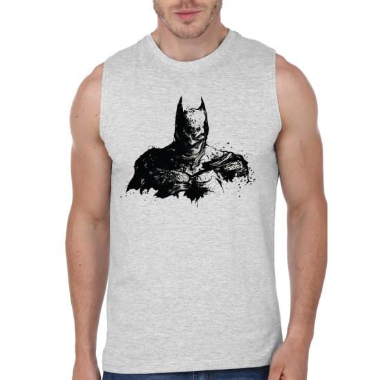 batman grey vest