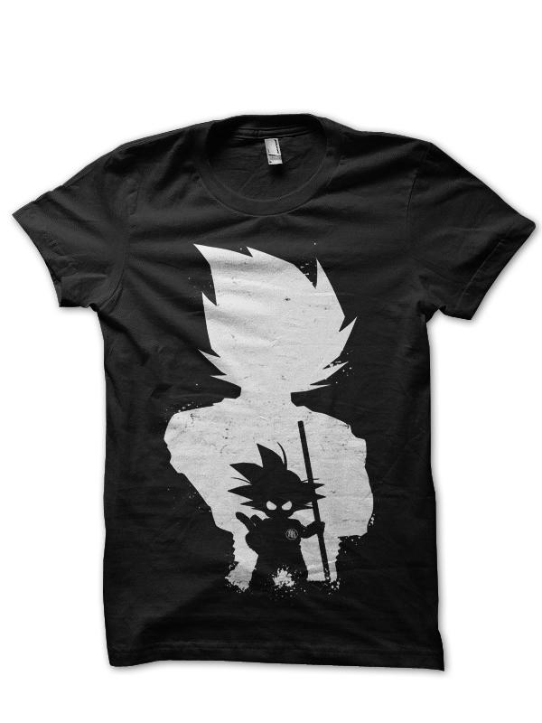 goku black t-shirt