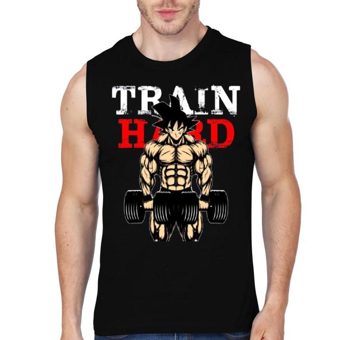 train goku black vest