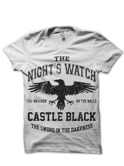 nights watch white tee1