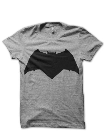 classic batman grey tee
