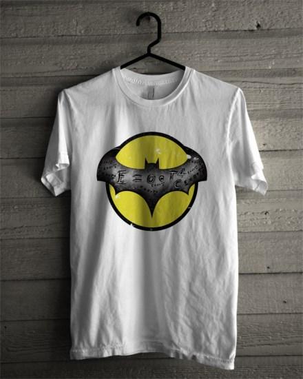 batman currency white tee