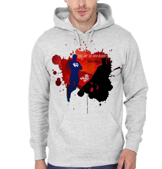tell me grey hoodie