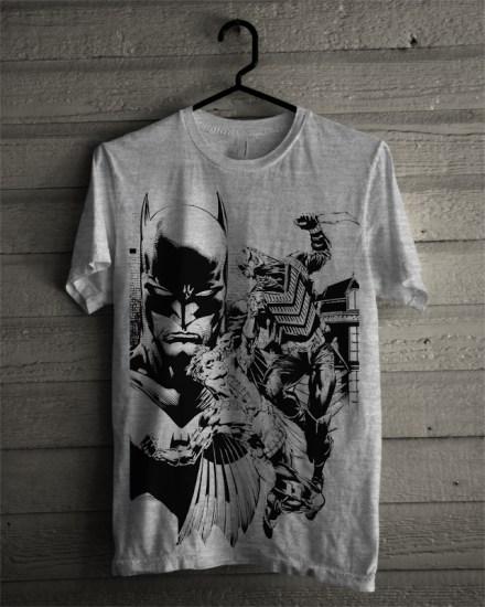 batman grey tshirt