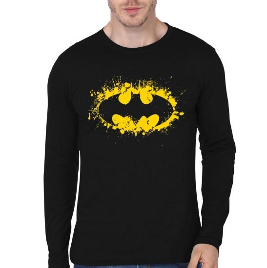 splash batman black tee