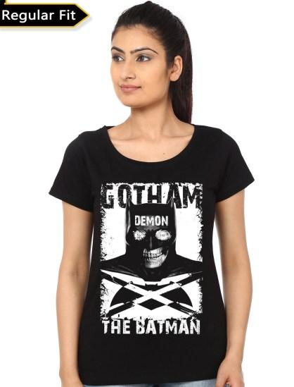 crazy batman black girls tee