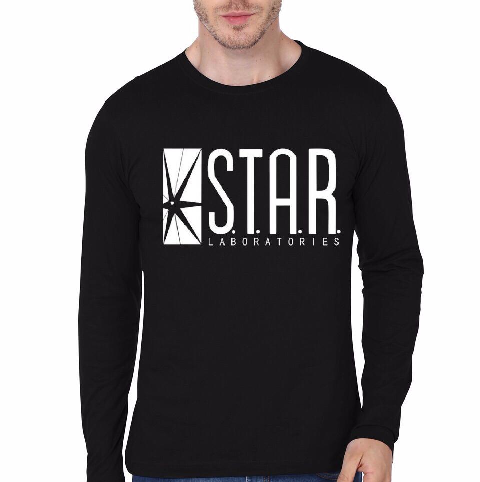 Star labs black full sleeve t shirt part 1 for Jockey full sleeve t shirts india