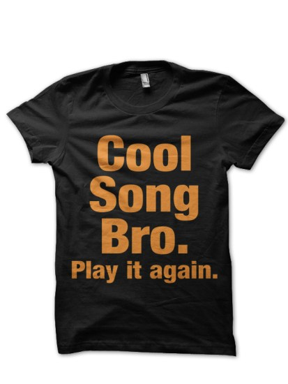 play it again black t-shirt