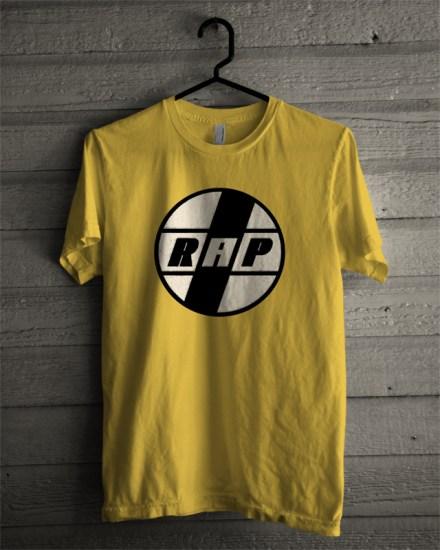 rap yellow t-shirt