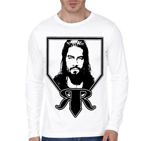 roman reign white full sleeeve t-shirt 2