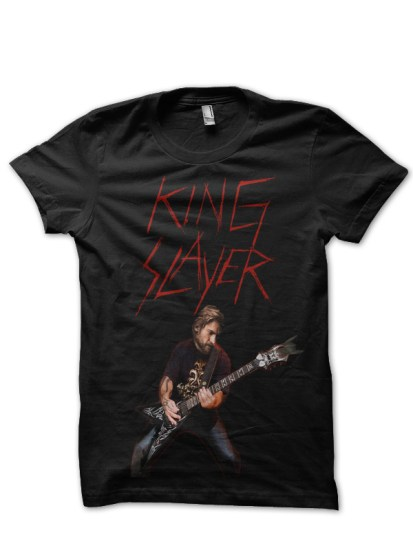 king slyer black t-shirt