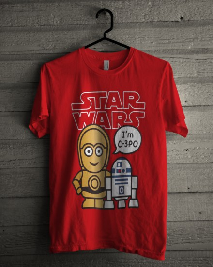 star wars red t-shirt
