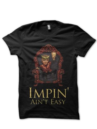 impin black t-shirt