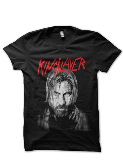 kingslayer black t-shirt