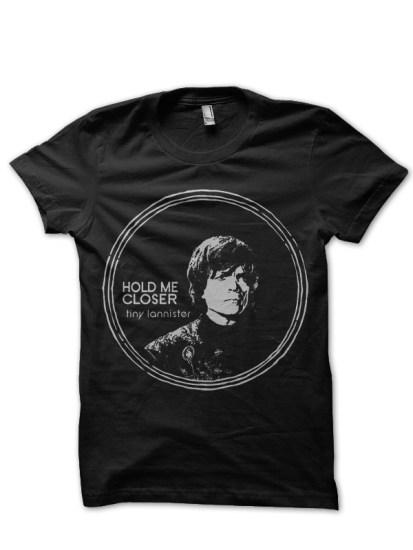 little lannister black t-shirt