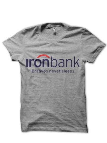 bravos bank grey t-shirt