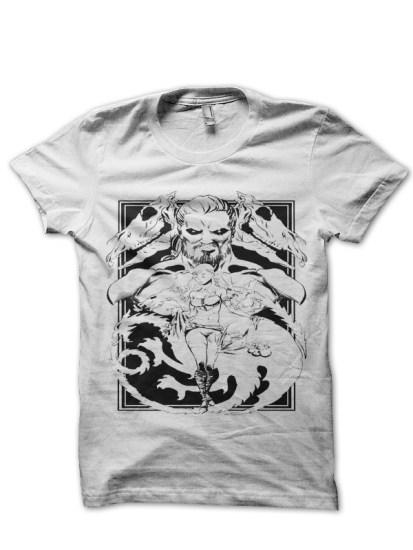 s53 mens white t shirt