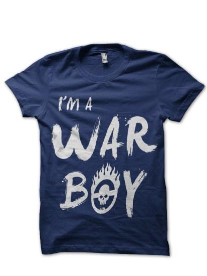 war boy navy tee