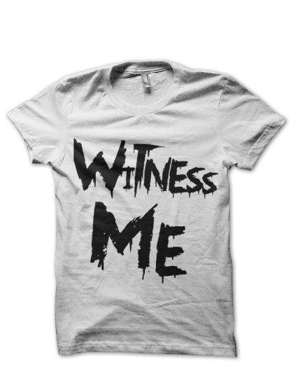 witness war boys white tee