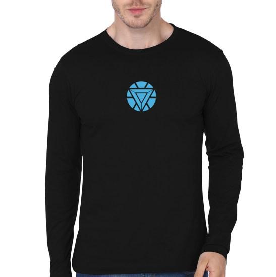 arc-reactor-full-sleeve-black-tee