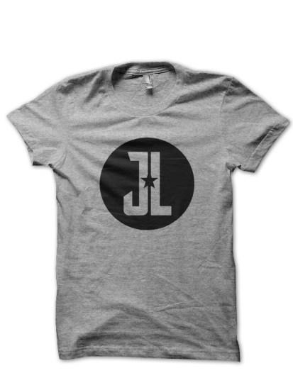 justice league3grey tee