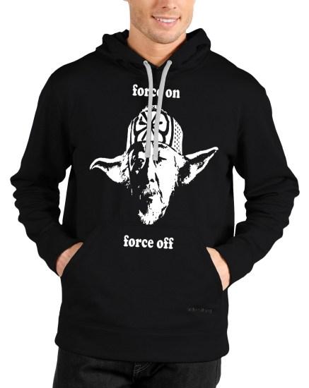 master yoda black hoodie