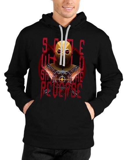 reverse flash black hoodie