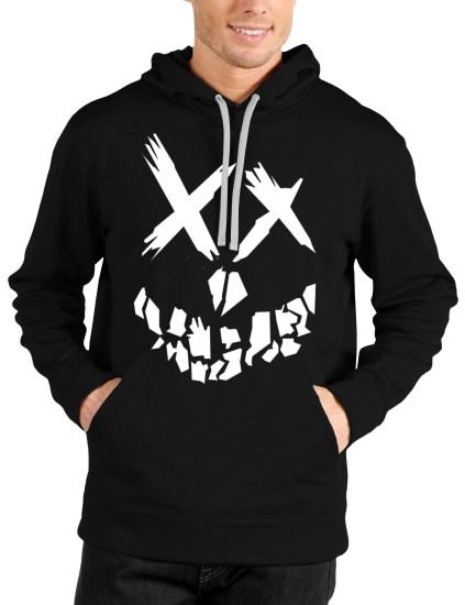 suicide squad black hoodie