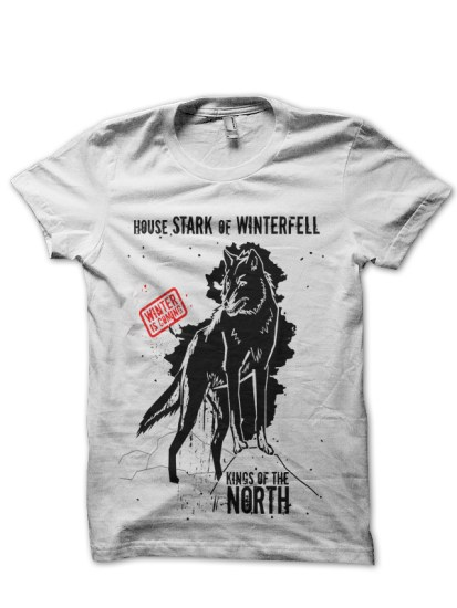 king-in-the-north-white-t-shirt