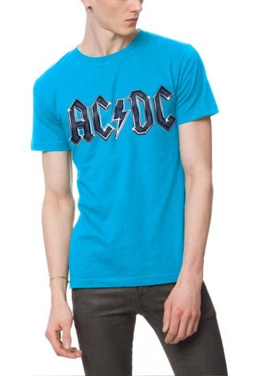 ac dc light blue t-shirt