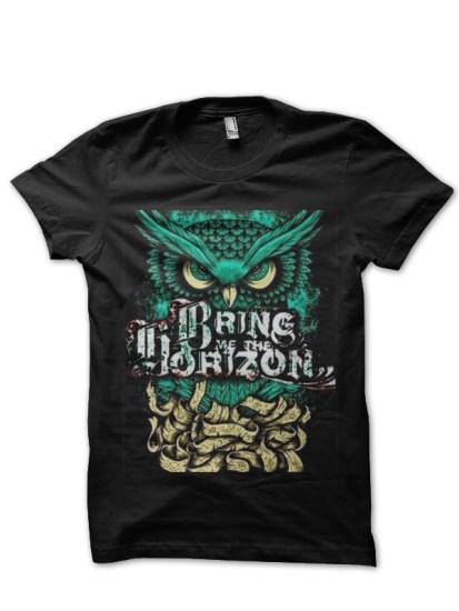 bring me the horizon black tee