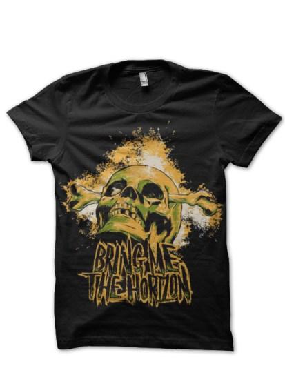 bring me the horizon black tshirt