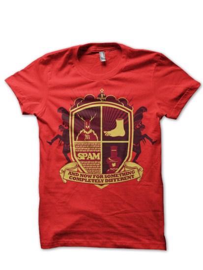 knights who say ni red t-shirt