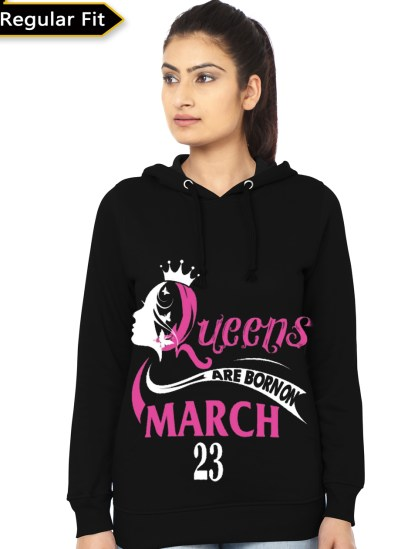 march girls hoodie