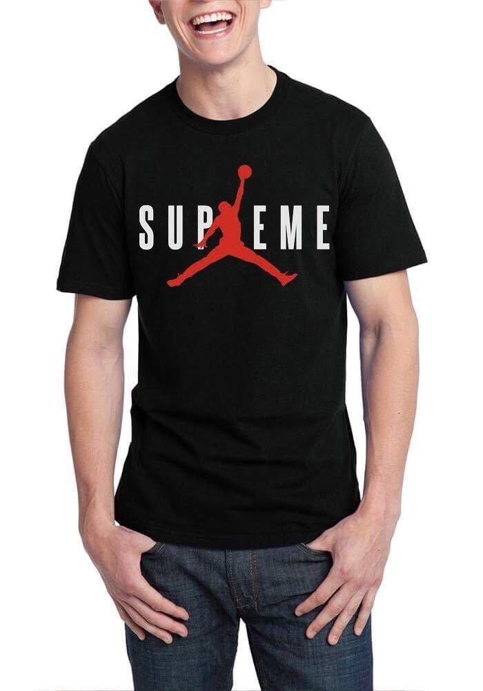supreme x jordan t shirt