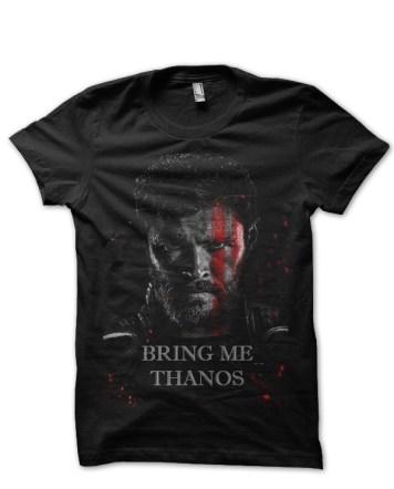 THOR-bring-me-thanos-black-tshirt
