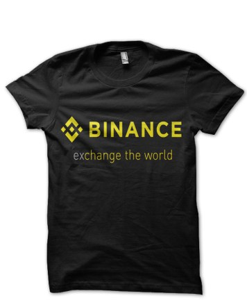 binance black tshirt