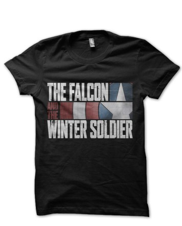 falcon and winter soldier tshirt