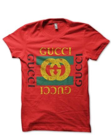 gucci red tshirt