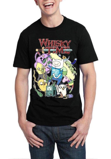 whiskey time tshirt