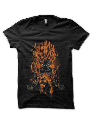 Dragon Ball Z Teen Gohan Black T-Shirt